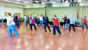 Wind River Tai Chi Class at the Tucson Chinese Cultural Center