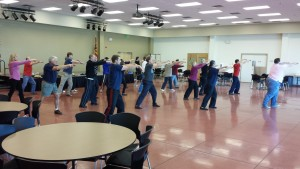Class with Wind River Tai Chi Chuan
