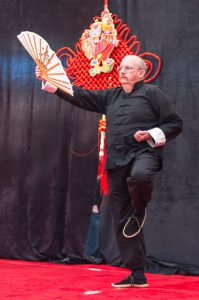 Paul McIlrath Demonstrating Tai Chi Fan